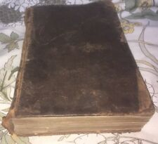 Very Rare Copy Of 1835 Leather-bound The New Testament, Published By Collingwood