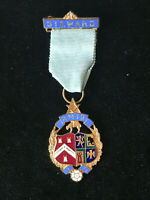 RMIB Steward Breast Jewel 1976 Free Masons Masonic Regalia