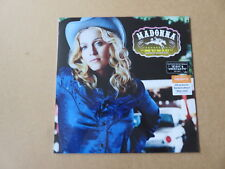 Madonna Music LP Sainsburys Only 2018 Blue Vinyl Pressing 9362-47865-1