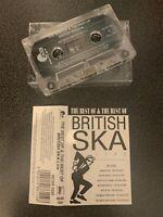 THE BEST OF & THE REST OF BRITISH SKA LIVE (UK CASSETTE TAPE)