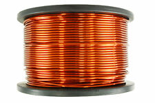 TEMCo Magnet Wire 8 AWG Gauge Enameled Copper 5lb 100ft 200C Coil Winding
