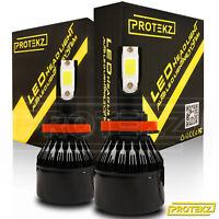 LED Fog Light Kit Protekz 5202 6000K 1200W for 2007-2016 GMC SIERRA HD (2500/350