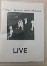 Dream Concert Series Presents: Van Halen with Sammy Hagar OU812  LIVE DVD