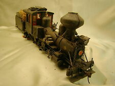 Ho On30 -  Logging  Steam Locomotive - DCC onboard custom  weathered -  lot 9