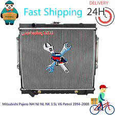 #Radiator For Mitsubishi Pajero NH NJ NL NK 3.5L V6 Petrol 1994-2000 Auto/Manual