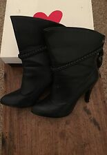 Stiletto Party Pull On Synthetic Boots for Women