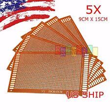 5pcs KIT Prototyping PCB Printed Circuit Board Prototype Breadboard Stripboard