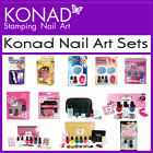 Konad Stamping Nail Art Sets - Promo B C D T French Gold Special Stone Fancy Set