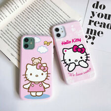 Cute Hello Kitty Cat Soft TPU Phone Case For iPhone 11 Max 7 8 Plus XR SE 2020
