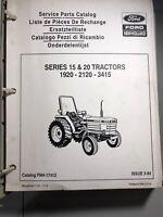 New Holland Service Parts Catalog Series 15&20 Tractors 1920-2120-3415 *114