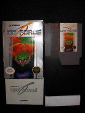 Life Force ~ CIB COMPLETE BOX MANUAL ~ Nintendo NES ~ Konami ~ Clean Tested RARE