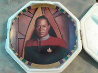 Commander Benjamin Sisko Star Trek Deep Space 9 Collector Plate #0360A Hamilton