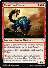 2x Manticore Eternal (Verewigter Mantikor) Hour of Devastation Magic