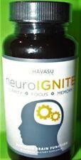 Havasu Nutrition Neuro Ignite Clarity Focus Memory Supplement - 30 Capsules