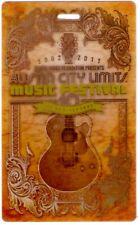 Austin City Limits 2011 Concert 3D Collectable Credentials Lot of 5