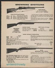 1973 BROWNING Buck Special, Double Automatic, BT-99 Trap Special Shotgun AD