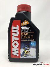 Aceite para Motos de Nieve, Motul Snowpower motores 4T Sae 0W40, 1 litro