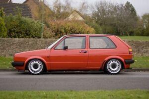 """Mk1 Mk2 Volkswagen Golf 4x100 16"""" 6.5J ET40 Steel Wheels NEW Renault"""
