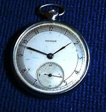 Vintage russian pocket watch MOLNIA 4