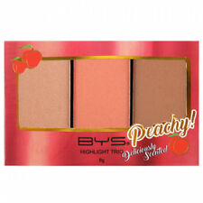 BYS Peach Highlight Trio deliciously sweet peach fragrance Face Highlighting