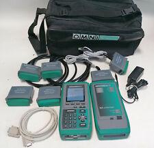 Fluke Microtest Omniscanner 2 Cat 5 5e Cat6 Digital Cable Analyzer Certifier