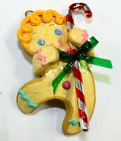 Gingerbread Treat Carlton Cards Heirloom Collection Ornament Candy Cane NEW