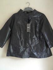 BNWT Ladies Grey Waterproof Rain Coat Jacket Mac Size 12 River Island Faulty