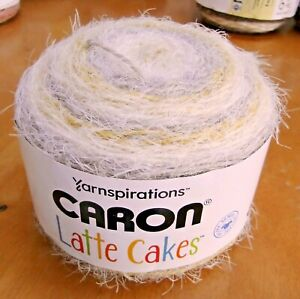 Yarnspirations Caron LATTE CAKES BUTTER COOKIE Yarn 530 yards NEW