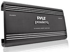 New Pyle PLA4478 4 Ch 4000 Watts Bridgeable Mosfet Amplifier Car Audio Amp