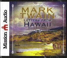 NEW Mark Twain Letters from Hawaii Audio Book 9 CDs Unabridged Drama Robin Field