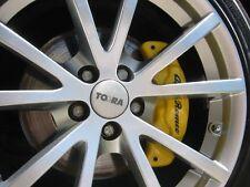 Kit Cover Pinze / Cover Brake per Alfa Romeo 147 / 156 / GT colore GIALLO