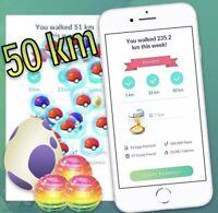 Pokemon Go Buddy Walking 50km