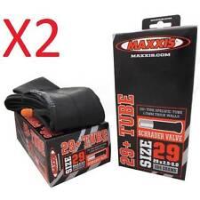 "2x MAXXIS 29"" BIKE MTB 29+ 29er Tube 29x2.5-3.0 Schrader S/V A/V Valve 384Gram"