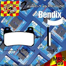 BENDIX 309-MRR ROAD RACE RACING TRACK DAY FRONT BRAKE PADS HONDA CBR1000RR 2009