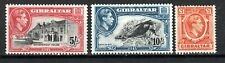 More details for gibraltar 1944 5s perf 14 1943 10s perf 14 and 1938 £1 mlh/mh