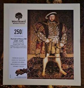 Wentworth 250 jigsaw puzzle Henry VIII