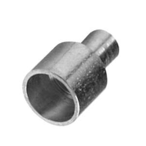 SRTYZ 500PCS Frein Embouts Gaine Fixation Cable Frein Metal 5 mm Manchons de Bo/îtier pour V/élo Embout Gaine pour Bouchon de Frein de V/élo Corde en Nylon Lacet Argent