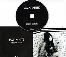 JACK WHITE Freedom At 21 2012 UK 1-track promo test CD Third Man
