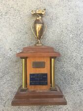 VINTAGE ANTIQUE CLASSIC CAR SHOW 1950's TROPHY FOR AUBURN HOT RAT ROD GASSER