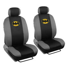 Licensed Warner Bros Batman 4 Piece Low Back Seat Covers Auto Interior