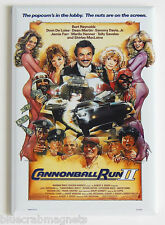 Cannonball Run 2 FRIDGE MAGNET (2 x 3 inches) movie poster burt reynolds