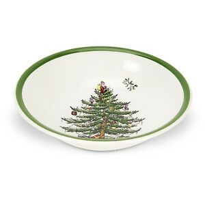Spode Christmas Tree Cereal Bowl 15.5cm (Set of 4)