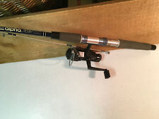 SHAKESPEARE ALPHA PRO ROD, ZEBCO CRAPPIE CLASSIC COMBO SPINNING OPEN FACE REEL