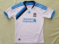 Liverpool FC 2011 2012 Standard Chartered Adidas 3rd Kit Jersey Kids Size 11-12Y