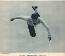 ICE FIGURE SKATING. Karl Schaefer - Slow toe spin - Langsame Spitzpirouette 1935