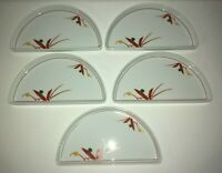 (5) United Airlines Noritake Stackable Entree/Appetizer Plates *****