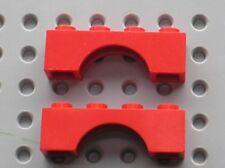 2 x Arche LEGO Red arch ref 3659 / set 9376 10027 7939 590 278 5899 5898 7239...