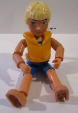 Lego Belville Figure fillette girl + Life Jacket Child du 5844 Laura with Surfbo
