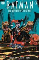 Batman: The Adventures Continue #6 Olivia De Berardinis( harley quinn cover)