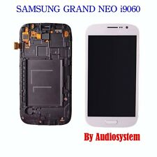 DISPLAY+TOUCH SCREEN+COVER per SAMSUNG GALAXY GRAND NEO GT i9060 FRAME BIANCO